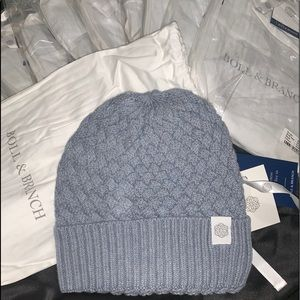 NWT Boll & Branch Knitted Chunky Knit Beanie